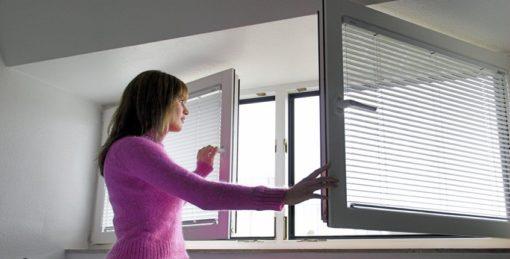 кондиционер при открытом окне