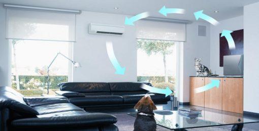 сплит-системы с приточной вентляцией